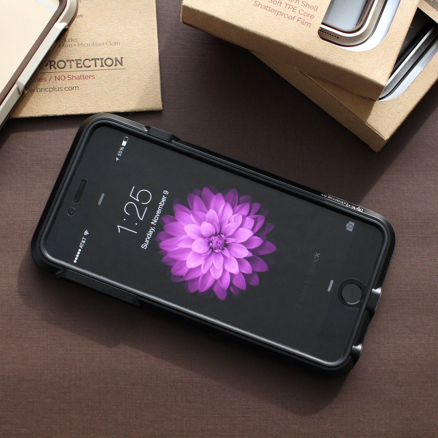 sneakers for cheap 6e9ab 1fee4 iPhone 6 Case // Charcoal Grey + Black - BRICWAVE - Touch of Modern