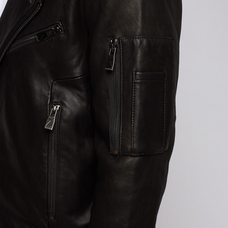 eleven paris kanon leather jacket black s elevenparis touch of modern. Black Bedroom Furniture Sets. Home Design Ideas