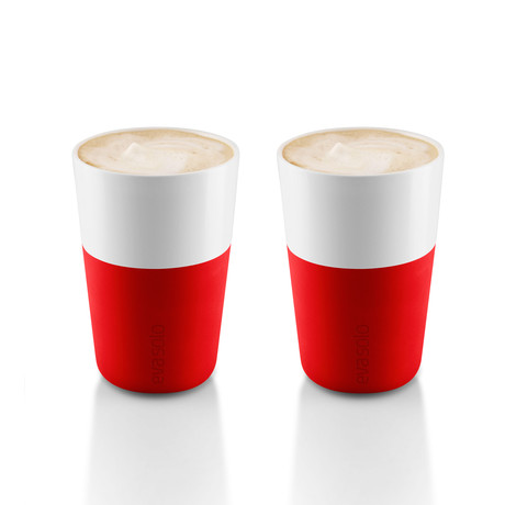 Café Latte Coffee Tumblers // 2-Piece Set (Carbon Black)