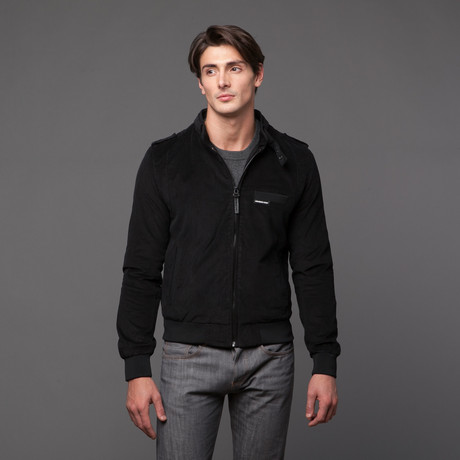 Members Only // Corduroy Iconic Racer // Black