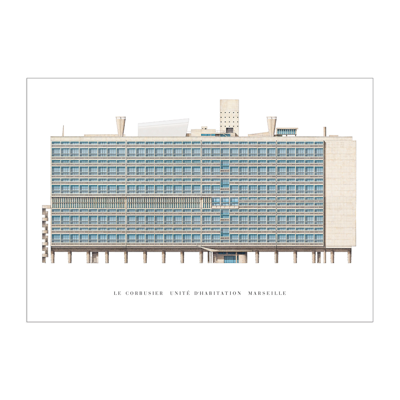 Le Corbusier Unite D Habitation le corbusier, unité d'habitation, marseille - edition