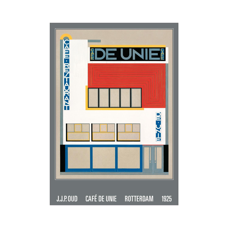 New J.J.P.Oud, Café De Unie, Rotterdam, 1925 - Edition Lidiarte &SL08