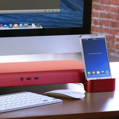Deluxe UNITI Set // Red (Apple Lighting + Apple Lighting)