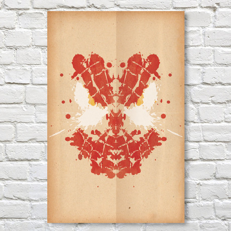 Spiderman // Rorschach Print