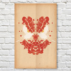 Spiderman // Rorschach Print