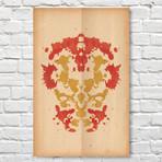 Iron Man // Rorschach Print