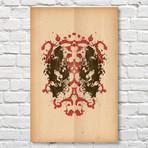 Deadpool // Rorschach Print