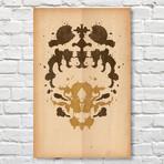 Scorpion // Rorschach Print