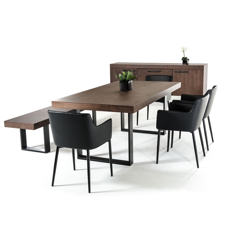 Lola wenge walnut dining table vig furniture touch of modern lola wenge walnut dining table dzzzfo