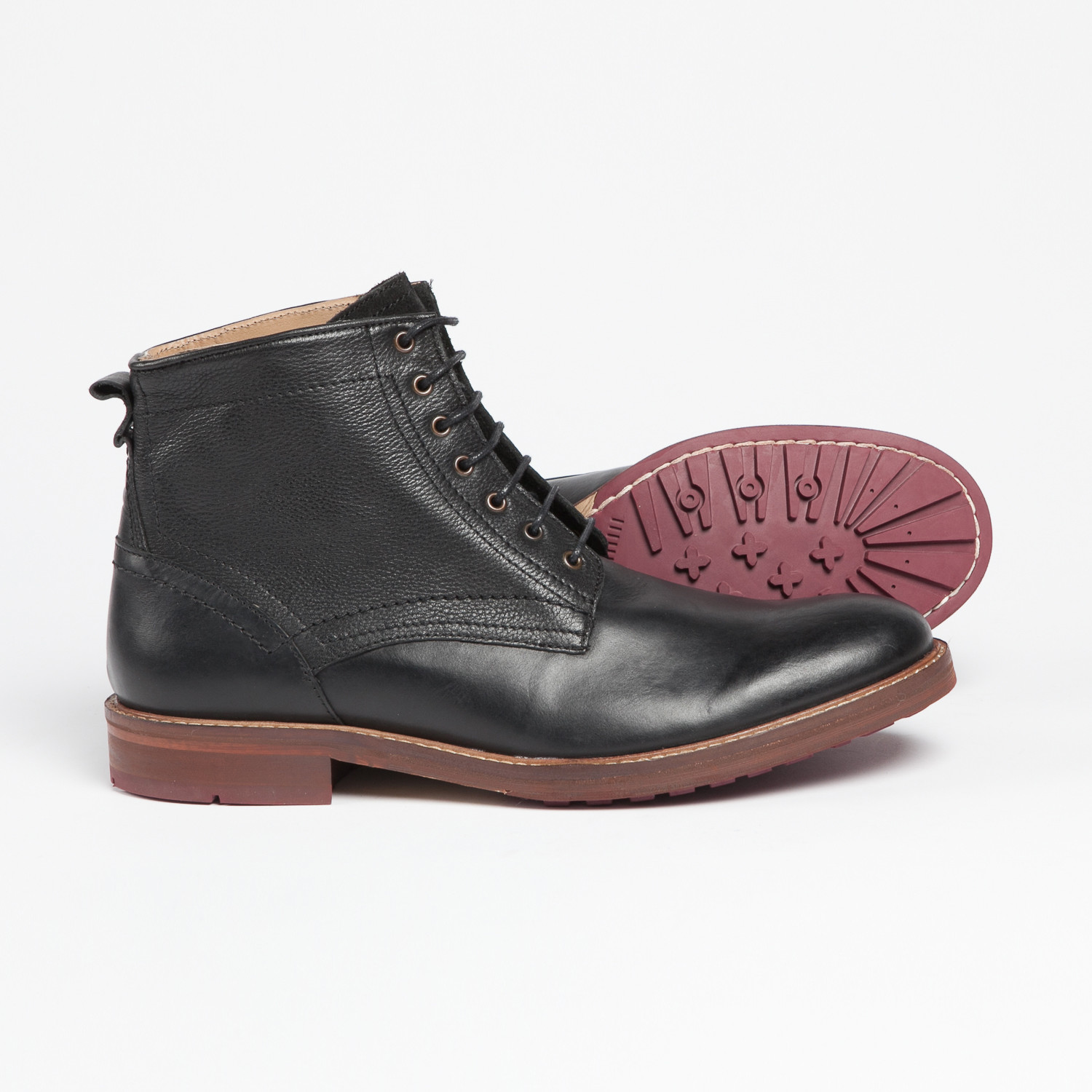 1d7e64c5538 Chancery Lace-Up Boot // Black (UK: 7.5) - Merc Shoes - Touch of Modern