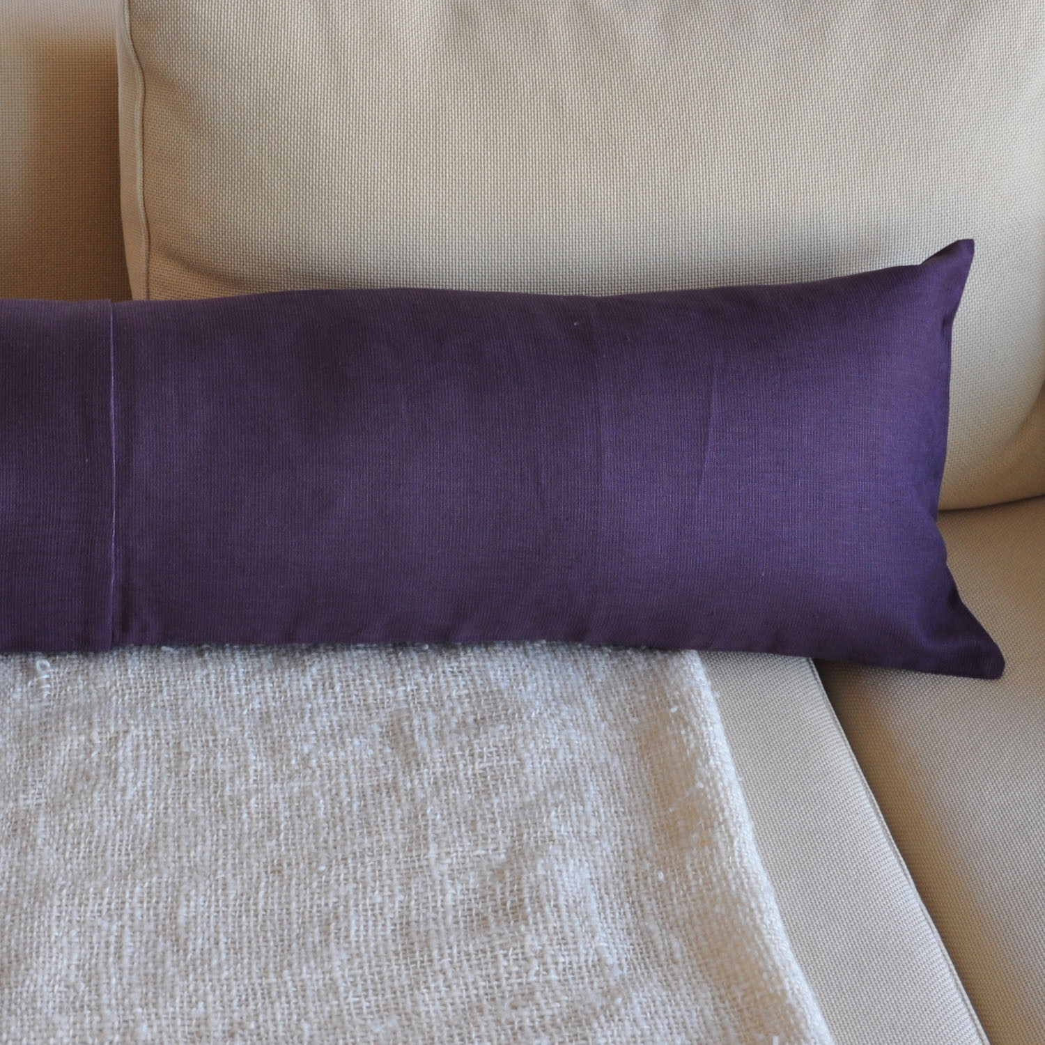 Jensen Accent Pillow With Insert // Eggplant (Small) - Modernplum - Touch of Modern