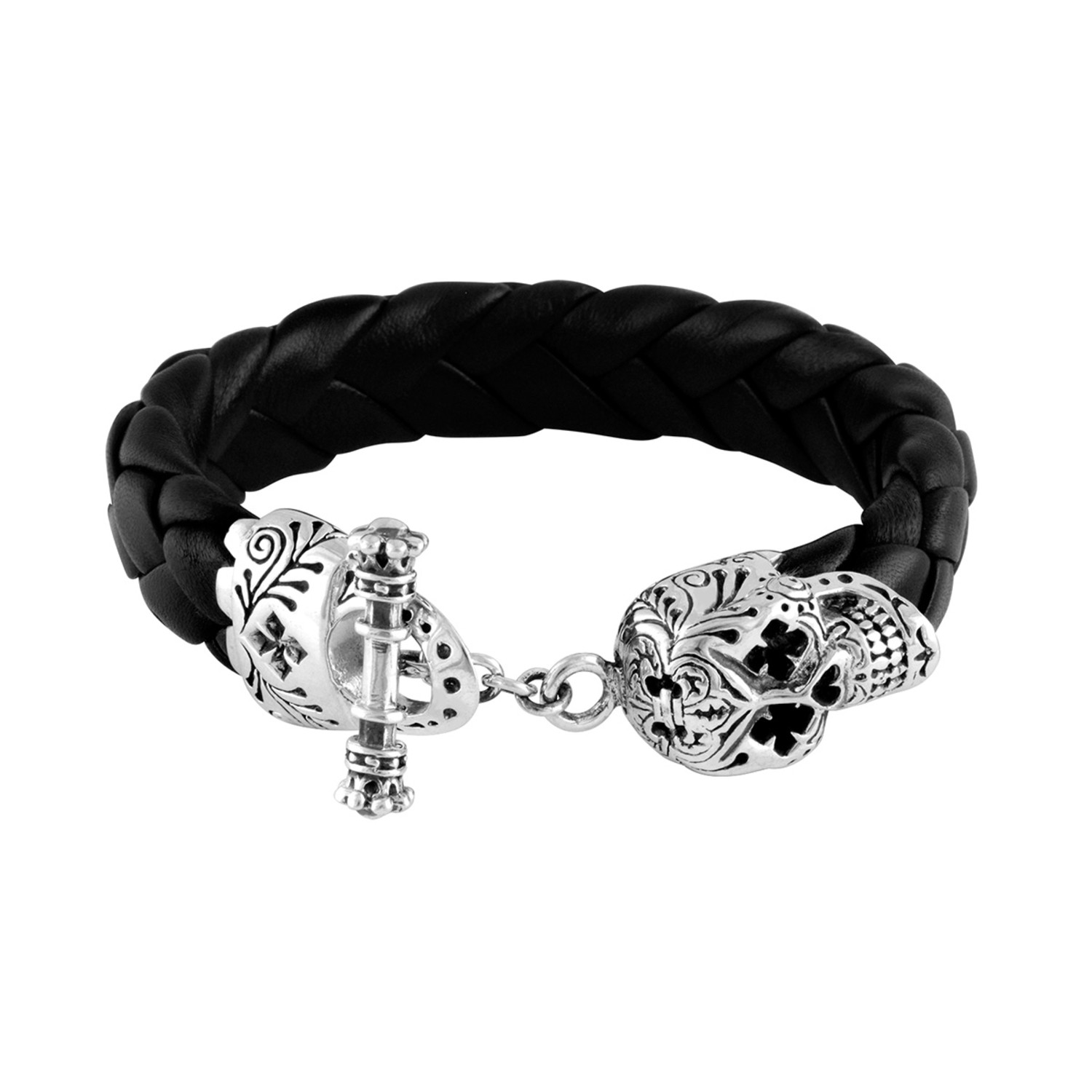 Day of the dead skull bracelet king baby touch of modern for King baby jewelry sale