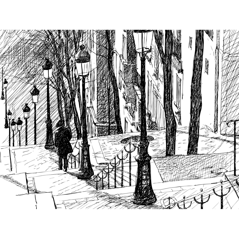 Artistic Stairs Canada: Montmartre Stairs // Katerina Prochazkova