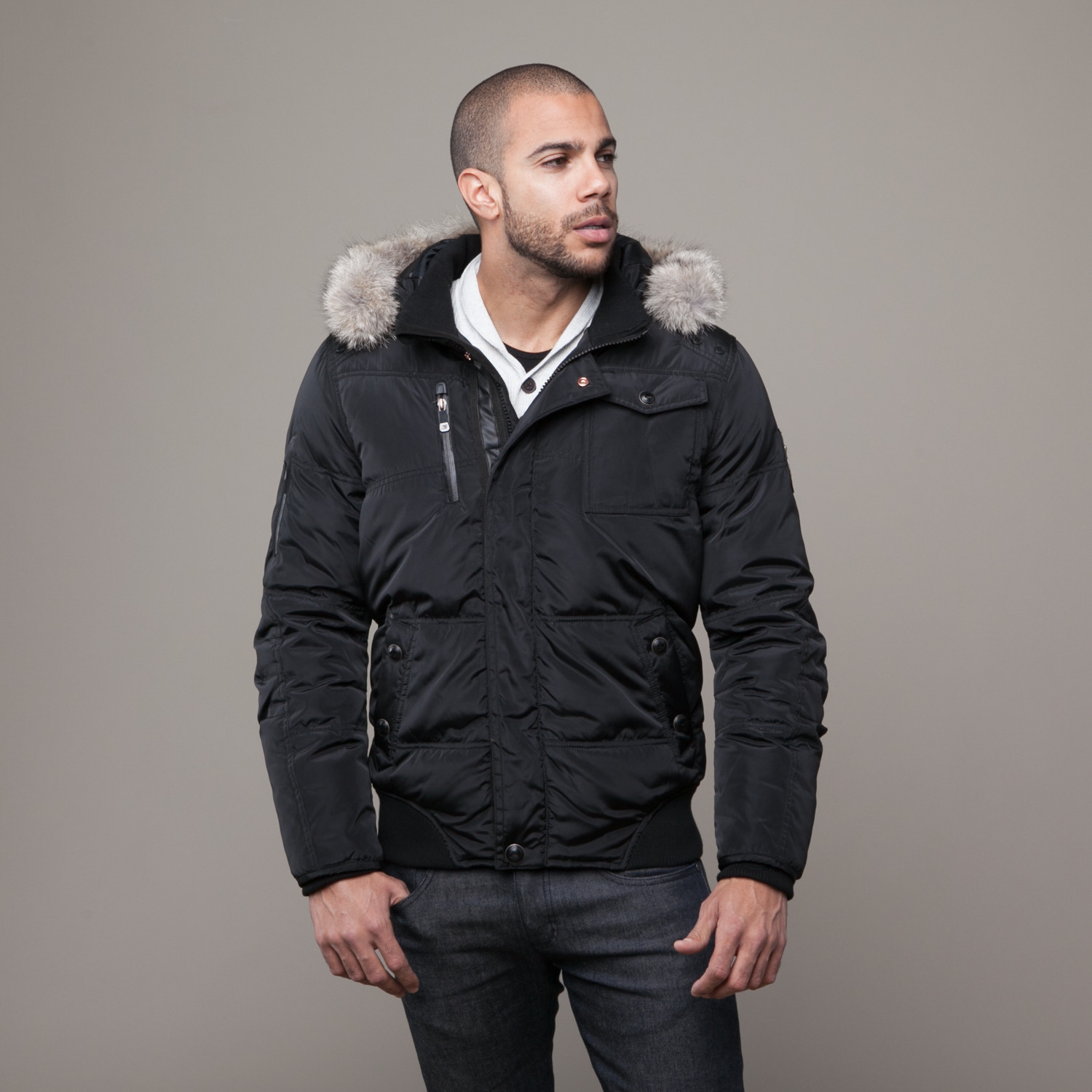 Down Bomber Jacket (S) - Point Zero - Touch of Modern