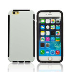 Rugged Slim Case with Screen Shield // iPhone 6 (Black)