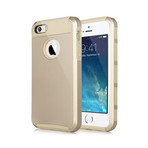Gold Rugged Soft & Hard Case // Gold (iPhone 5, 5S)