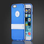 Soft Gel Cover with Kickstand // Blue (iPhone 6)