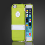 Soft Gel Cover with Kickstand // Green (iPhone 6)