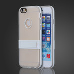 Soft Gel Cover with Kickstand // White (iPhone 6)