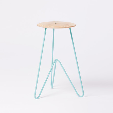 High Stool // Ash (Seafoam)