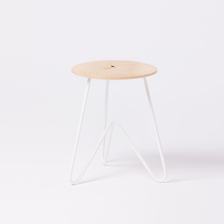 Low Stool // Ash (Seafoam)