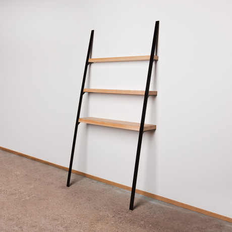 Leaning Shelf // Ash (Seafoam)