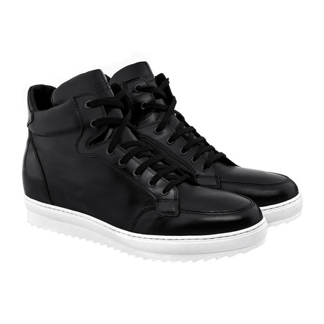 California High-Top Sneakers // Black (US: 7)