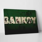 """Banksy Tribute (20""""L x 16""""H)"""