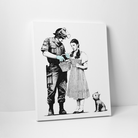 "Dorothy Police Search (16""W x 20""H)"