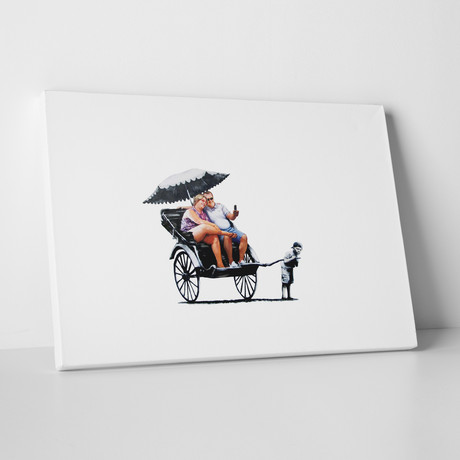 """Rickshaw (20""""W x 16""""H)"""