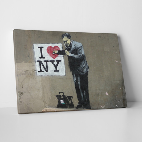 "Love New York (20""W x 16""H)"