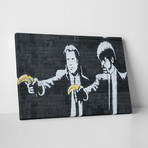 "Vincent And Jules With Bananas (20""L x 16""H)"