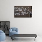 """Blank Walls (20""""L x 16""""H)"""