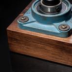 Cast Iron Industrial // Square Lamp