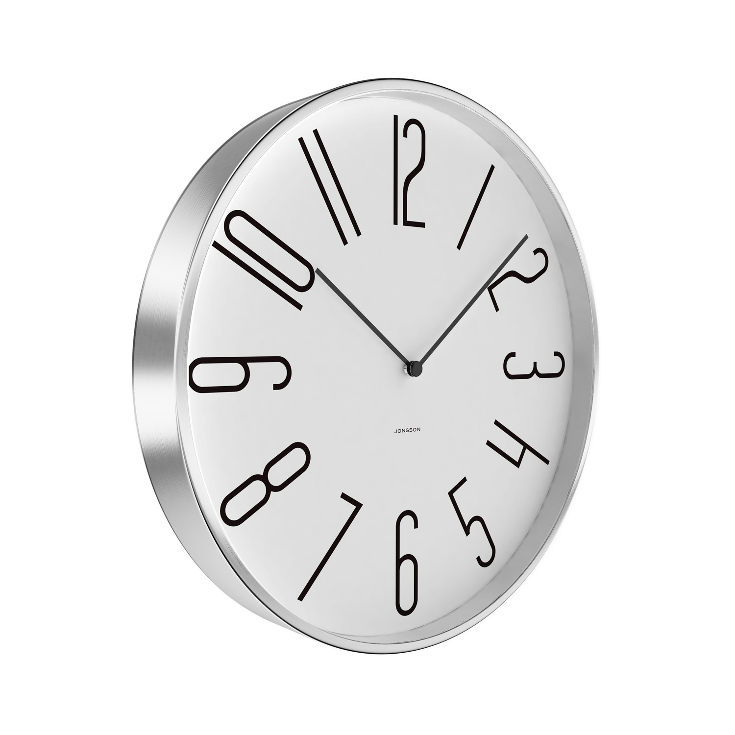 Wall clock schoolhouse jonsson touch of modern for Touch of modern clock