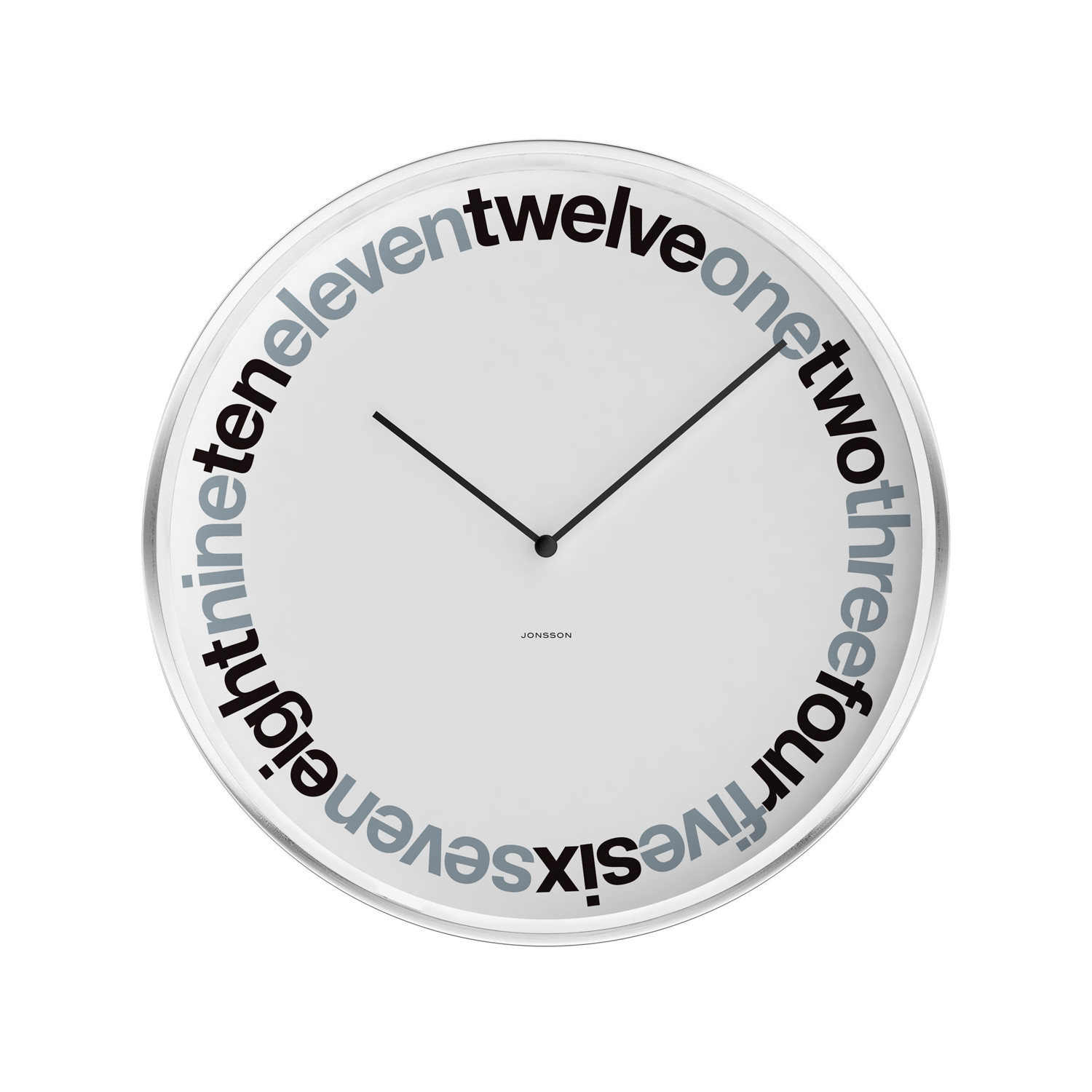 Wall clock ring time jonsson touch of modern for Touch of modern clock