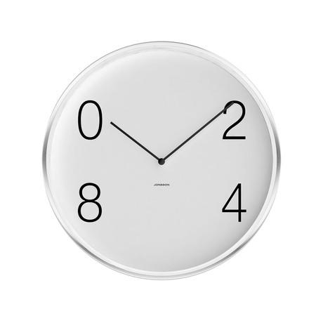 Jonsson modern minimal wall clocks touch of modern for Touch of modern clock