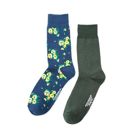 Richer Poorer // Savant Wave Sock Combo // Set of 2