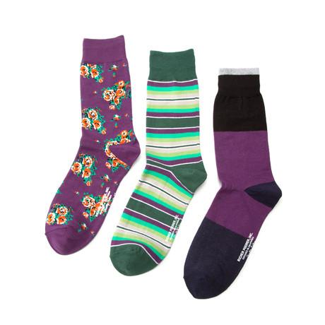 Richer Poorer // Daydream Trip Sock Combo // Set of 3