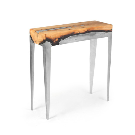 Hilla Shamia - Cast Metal + Burnt Wood Furniture - Touch ...