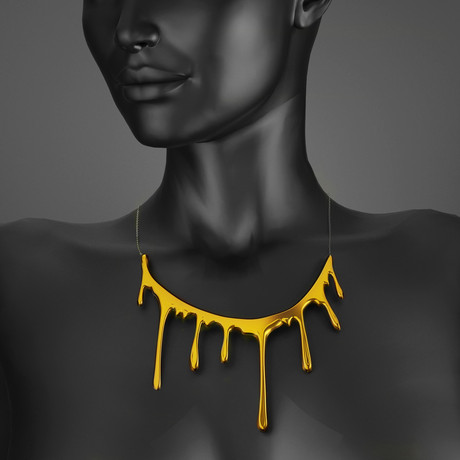 Bloody Necklace One // Gold