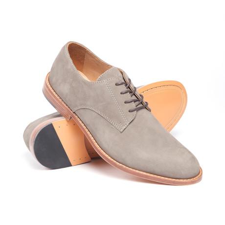 Warfield & Grand // Pullman Nubuck Oxford // Grey