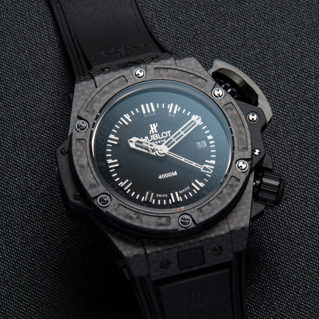 Hublot King Power Oceanographic 4000 Automatic // 731.QX.1140.RX