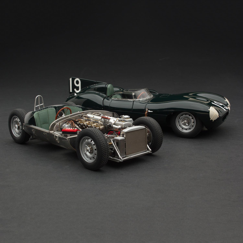 1955 Jaguar D-Type Short Nose + Rolling Chassis // Set of ...