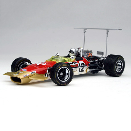 1968 Lotus Type 49B // Car #12