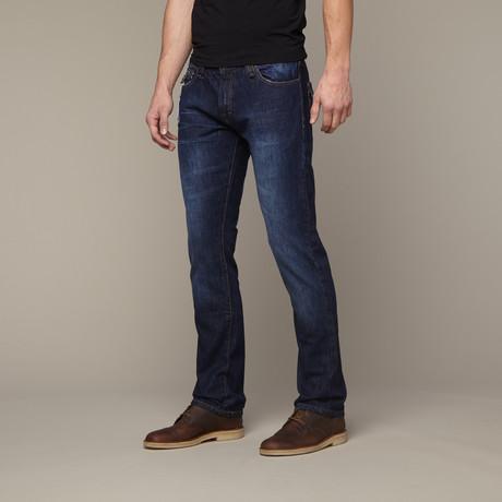Flap Pocket Jean // Dark Indigo