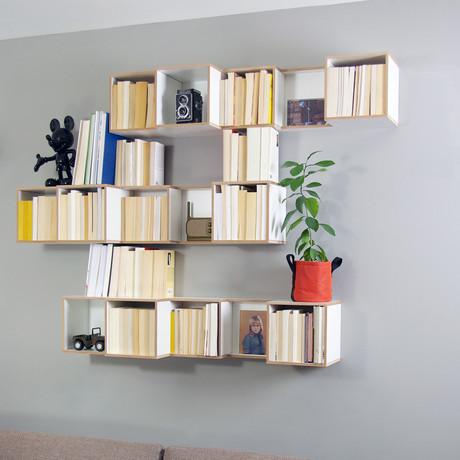 V-Box // Shelf + Bookcase