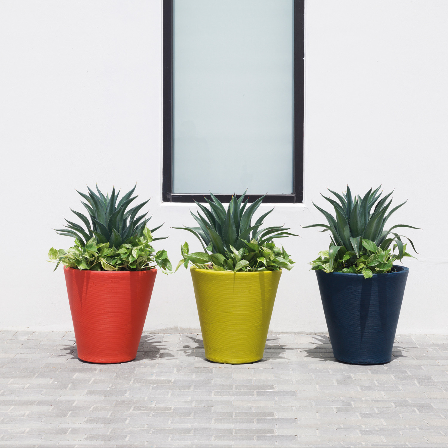 Madison 26 Planter Ink Crescent Garden Touch of Modern
