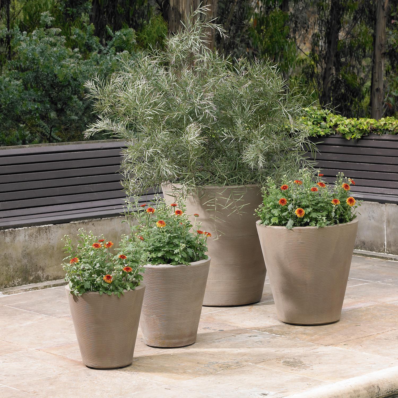 Madison Planter Mocha 26 Crescent Garden Touch of Modern