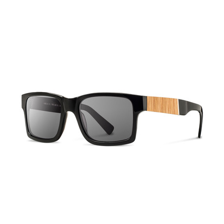 5e5d85b03f Haystack Fifty Fifty    Black + Oak (Grey) - Shwood Shop - Touch of ...